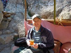 Me in the Ourika Valley in Morocco, January 2012