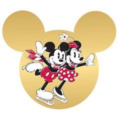 Disney Christmas Printable - Mickey and Minnie Ornament | Printables | Disney Family.com