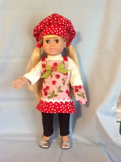 American girl doll clothes handmade by Jamie Burkett.