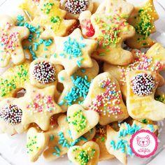 Unsere Weihnachtsplätzchen 2016 - zuckersüß und super bunt <3 Wir lieben Kekse backen #backen #familie #mitkindern #kekse #weihnachten #freude #happy #lecker