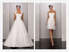 My Wedding Dress: 2 In 1 Wedding Dresses - One Dress Two Styles