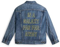 Disney Star Wars Denim Trucker Jacket for Women by Levis