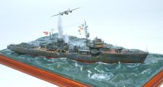 jp system photo_sub_images images 000 000 017 299 Scale Model Ships, Scale Models, Military Diorama, Military Art, Model Warships, Best Scale, Naval, Model Hobbies, Model Building