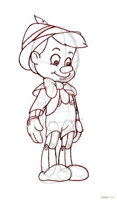 Disney - How to Draw Pinocchio