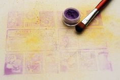 stamping and pigment powders