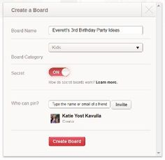 A mom's guide to using Pinterest's new secret boards