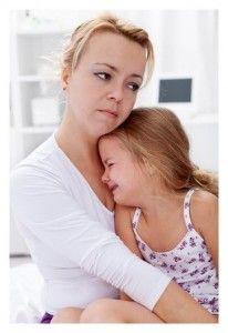mother cuddling sad daughter - Google Search