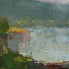 Abstract landscape. Christine LaFuente