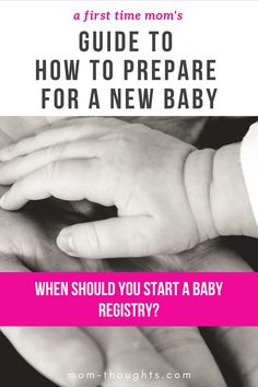 If you're preparing for a baby, you're probably wondering when should you start buying baby items? The timeline for preparing for a baby varies from mom to mom, but there are some really helpful tips to consider regarding when you should start buying things for baby. There's some baby items you need to buy now, and some things you should wait on. Check out this guide on When To Start Buying Baby Stuff! First Time Pregnancy, Pregnancy Books, Pregnancy Advice, Pregnancy Stages, Mom Advice, Parenting Advice, Baby Timeline, Hospital Bag List, Creative Pregnancy Announcement