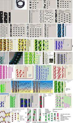 Knitulator sucht #Schmuckideen: #Häkelketten 'Perlenhäkelei Häkelketten fädeln