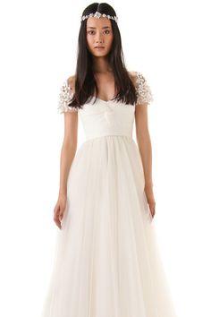 2013 Wedding Dresses A Line Sweetheart Off The Shoulder Floor Length