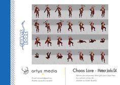 https://flic.kr/p/E5QVYD | Chaos Lore · Meteor Jacks 04 | Diferentes poses del personaje Meteor Jacks para el juego Chaos Lore realizado en Unity 3D.  Modelado con Trimble SketchUp.