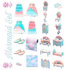 Animal Crossing Funny, Animal Crossing Guide, Animal Crossing Characters, Animal Crossing Qr Codes Clothes, Animal Crossing Villagers, Animal Crossing Pocket Camp, Mermaid Outfit, Motifs Animal, All About Animals