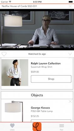 This App Lets You Shop On-screen Characters' Looks, Instantly #refinery29  http://www.refinery29.com/2016/03/106063/ever-curious-fashion-app