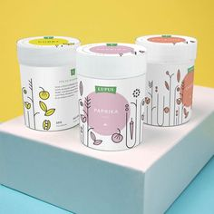 """99 Likes, 3 Comments - vcandi (@itsvcandi) on Instagram: """"Soft pastel colour tones used for this packaging. - - #color #colour #colorinspiration #design…"""""""