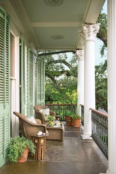 """Julia Reed's New Orleans Garden - The Garden on First Street - Southernliving. Three days after Hurricane Katrina hit New Orleans, landscape architect Ben Page arrived on the doorstep of author and entertaining expert Julia Reed. At the home (made famous in her book The House on First Street: My New Orleans Story) Ben found downed trees, lost camellias, and amazing examples of survival. """"In the wake of tragedy, we saw the storm had cleansed the slate for reinvention,"""" says Ben. Rather than…"""