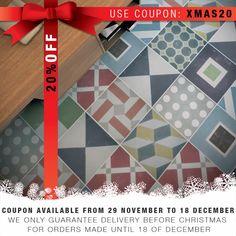 Floor Tiles - Flooring - Portuguese Tiles - Floor Vinyl - Vinyl Tile - Kitchen Floors - Bathroom Floors- Flooring - Tile Decals 48 SKU:ASAFL by HomeArtStickers on Etsy https://www.etsy.com/listing/288657233/floor-tiles-flooring-portuguese-tiles