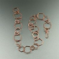 Hammered Copper Necklace - Rings. The perfect go-anywhere necklace! #7th #Wedding #Anniversary Gift Ideas   http://www.ilovecopperjewelry.com/hammered-copper-necklace-rings.html  $270.00