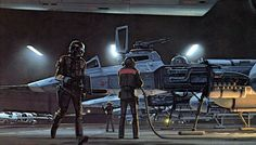 star wars concept spaceship art by from ralph mcquarrie x-wing tie fighter snow speeder at-at millennium falcon a new hope empire strikes back return of the jedi luke skywalker hoth planet darth vader emperor death star y wing