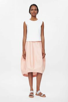 COS | Silk and cotton skirt
