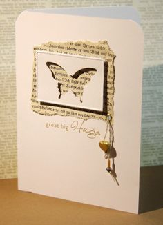 Butterfly card I made today
