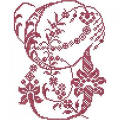 French Floral Cross Stitch Alphabet | Embroidery Stash