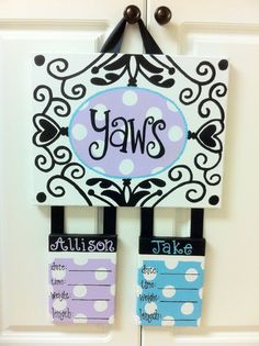 Custom Hospital Birth Announcement Door by MyClarksCreations, $60.00