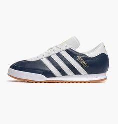 outlet store bf5fa c5639 Beckenbauer B34798 - adidas Originals  Caliroots Blue Sneakers, Adidas  Originals, Blue Trainers