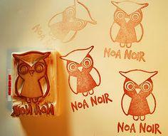 #stempel #owl #uilstempel #uil #owlstamp #carved #stamp #logo #logostempel #logostamp #Karen.Stempels #uiltje