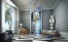 Elysee Miami just unveiled the interiors designed by the famous interior designer Jean Louis Deniot. Commercial Design, Interior Design Projects, Interior, Best Interior, Eclectic Interior, Famous Interior Designers, Jean Louis Deniot, Interior Designers, Miami Interiors