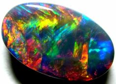 Black Opal 8.4 cts. with multiple patterns / https://www.facebook.com/photo.php?fbid=490105427699269=a.238769159499565.57159.100000994481111=1