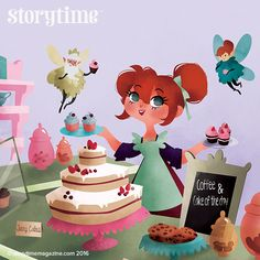 A fantastic fairy folk tale from Scotland in Storytime 28 with gorgeous illustrations from Benedetta Capriotti. ~ STORYTIMEMAGAZINE.COM