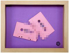 Benoit Jammes makes cassette art | Art & Design | Lifelounge