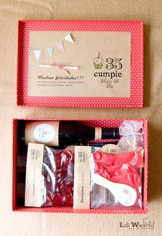 kit para celebrar cumple en pareja