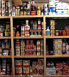 Canned emergency food storage by The Survival Woman, awesome easy to understand food storage tips! Emergency Food Storage, Emergency Food Supply, Emergency Preparation, In Case Of Emergency, Emergency Kits, Emergency Supplies, Emergency Planning, Emergency Shelters, Prepper Supplies