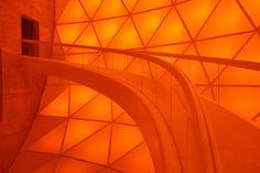to the inside chamber in matrimandir auroville