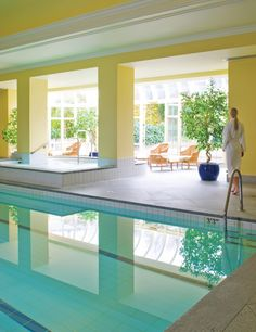 Poolside is an oasis of calm in The Spa with its own private Courtyard.