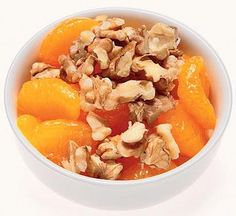 Oranges Topped With Walnuts: A Filling, Refreshing Snack