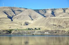 My favorite part of the Columbia River is between The Dalles and Boardman. This picture was taken by a Panoramio user somewhere near Rufus. Grass Valley, Columbia River Gorge, My Favorite Part, Cowboys, Mount Rushmore, Oregon, Washington, Mountains, World