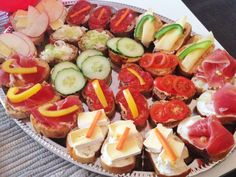 sandwiches for a birthday party, tea or brunch - you can make them with cheese, meat or even jam