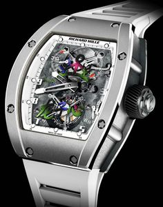 Richard Mille RM 055 JC timepiece designed for Jackie Chan's Dragons' Heart Foundation @DestinationMars