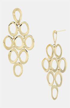 Ippolita 18k Gold Cascade Earrings available at #Nordstrom