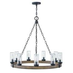 four light inverted pendant hinkley lighting