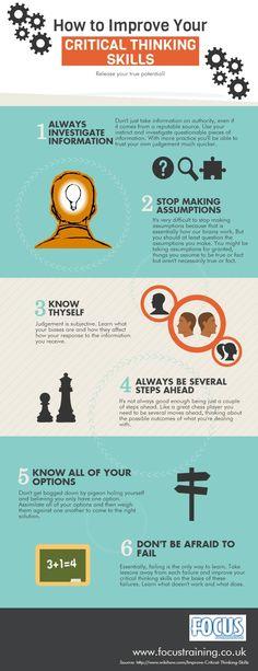Ultimate Critical Thinking Cheat Sheet | Pinterest | Critical ...
