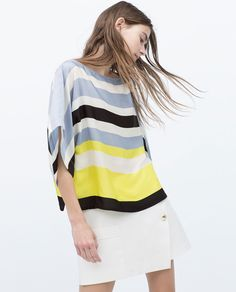 Image 4 of STRIPED TOP from Zara