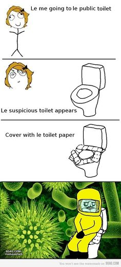 everyone knows bacteria can't penetrate toilet paper