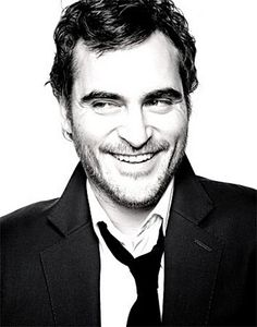 """Joaquin Phoenix. Never used to be a fan, but after his recent appearance on """"David Letterman"""", I think I've changed my mind. ;-D"""