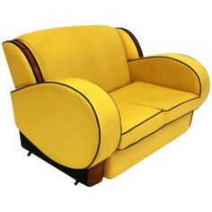 Art Deco Two Seater Sofa   From a unique collection of antique and modern sofas at http://www.1stdibs.com/furniture/seating/sofas/
