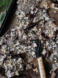 Spicy Seedy Chocolate Bark Recipe