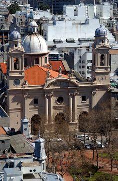 Catedral Metropolitana o Iglesia Matriz. Montevideo
